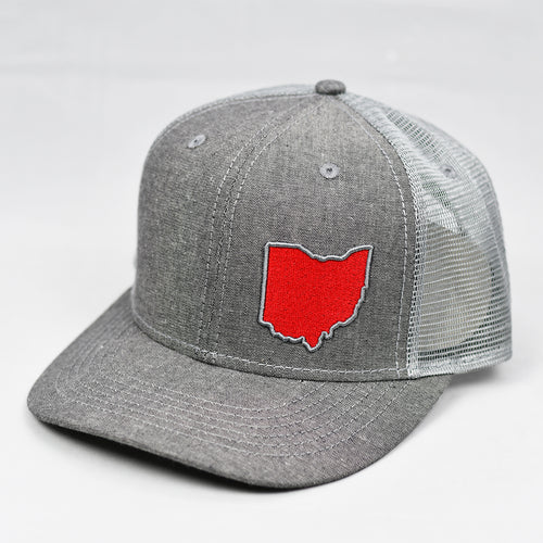 Ohio - Scarlet & Grey