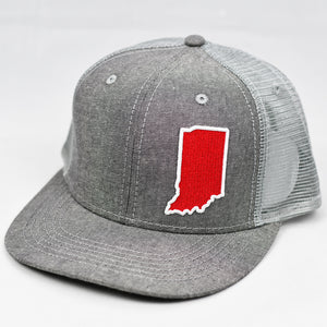 Indiana - Cardinal Red & White