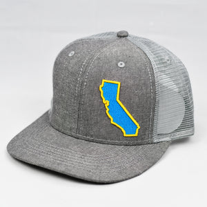 California - True Blue & Gold