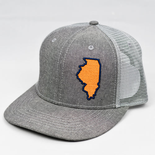 Illinois - Orange & Blue