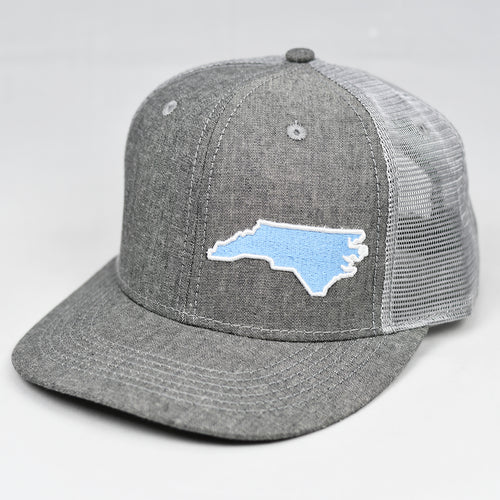 North Carolina - C. Blue & White