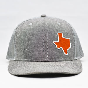 Texas - Burnt Orange & White