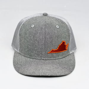 Virginia - Maroon & Burnt Orange