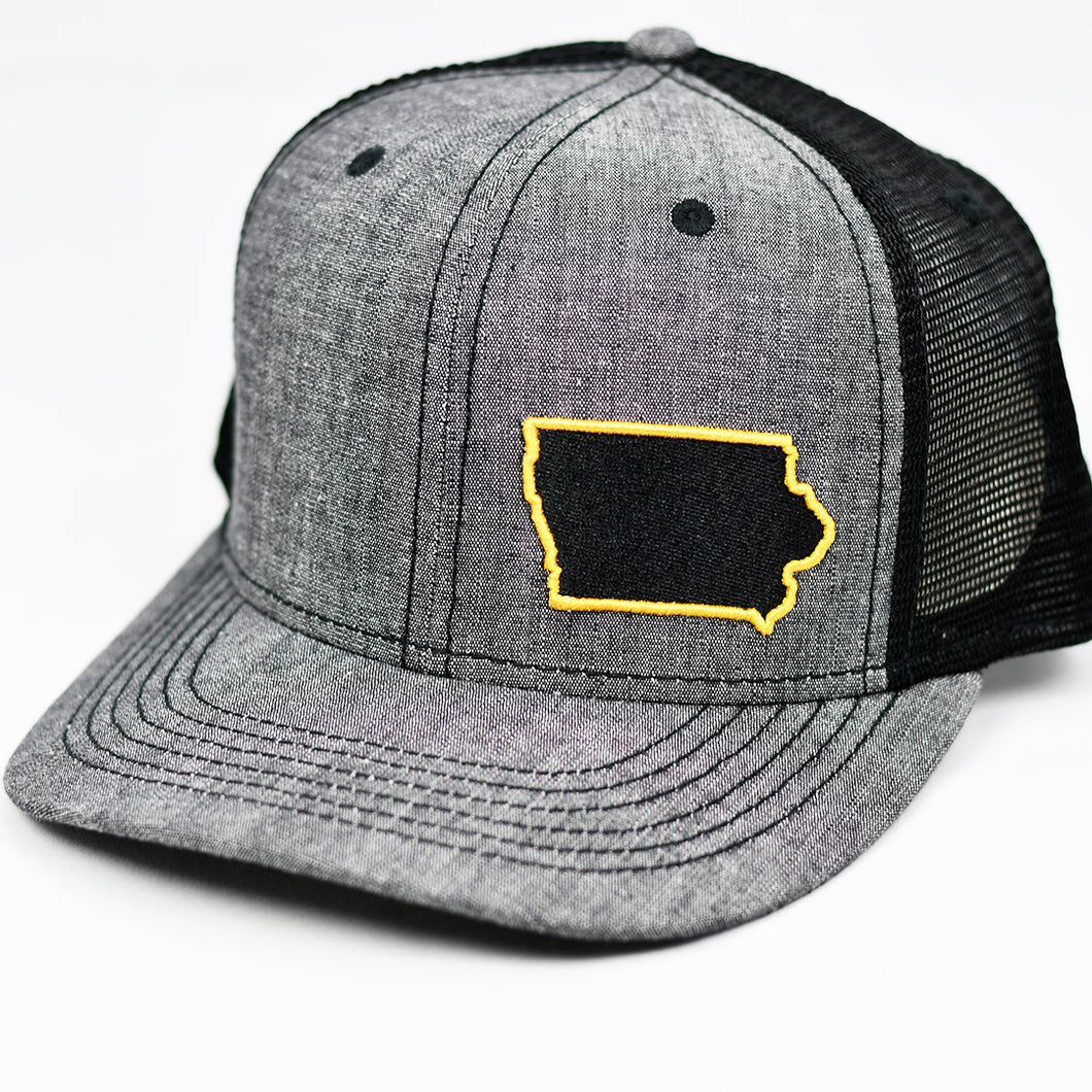Iowa - Black & Gold