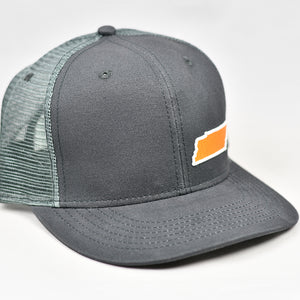 Smoke Grey - TN - Orange & White