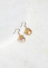 Capped Pearl Earrings