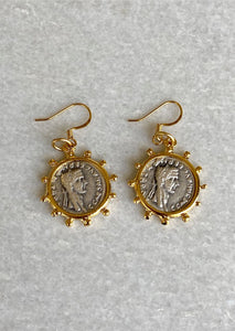 Simple Coin Earrings