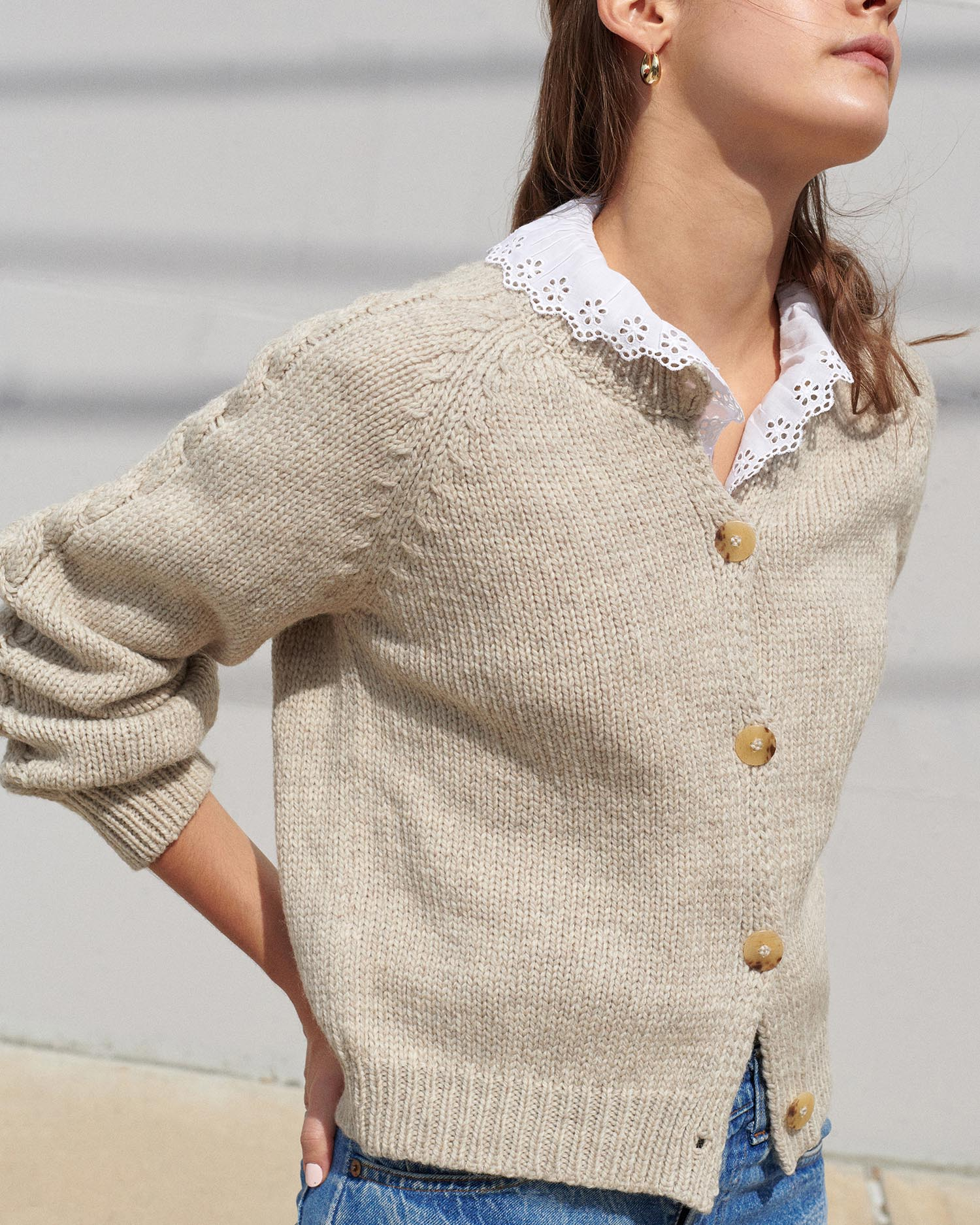 Knits For Good Wool Cardigan