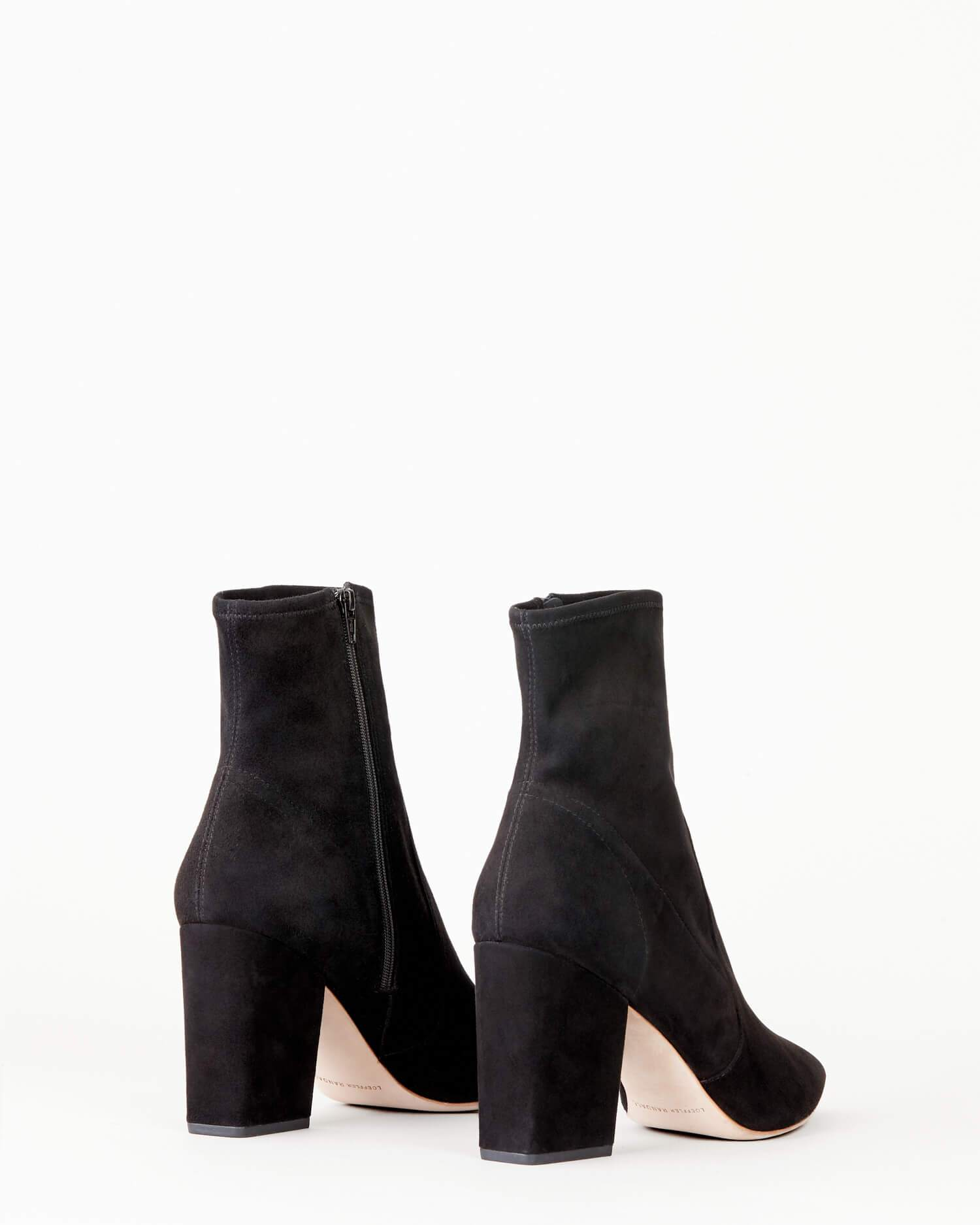 color: Black Suede