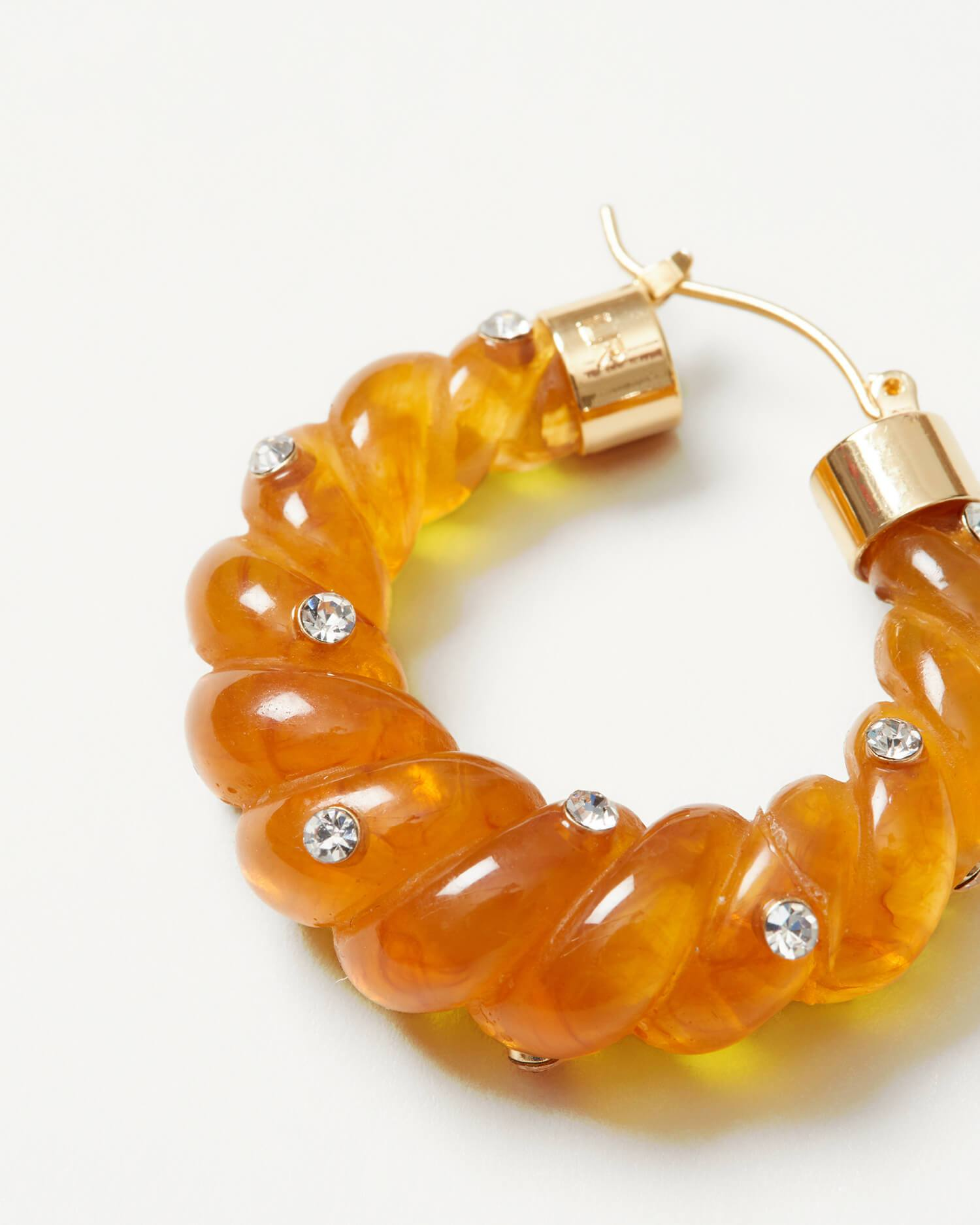 color:Honey resin