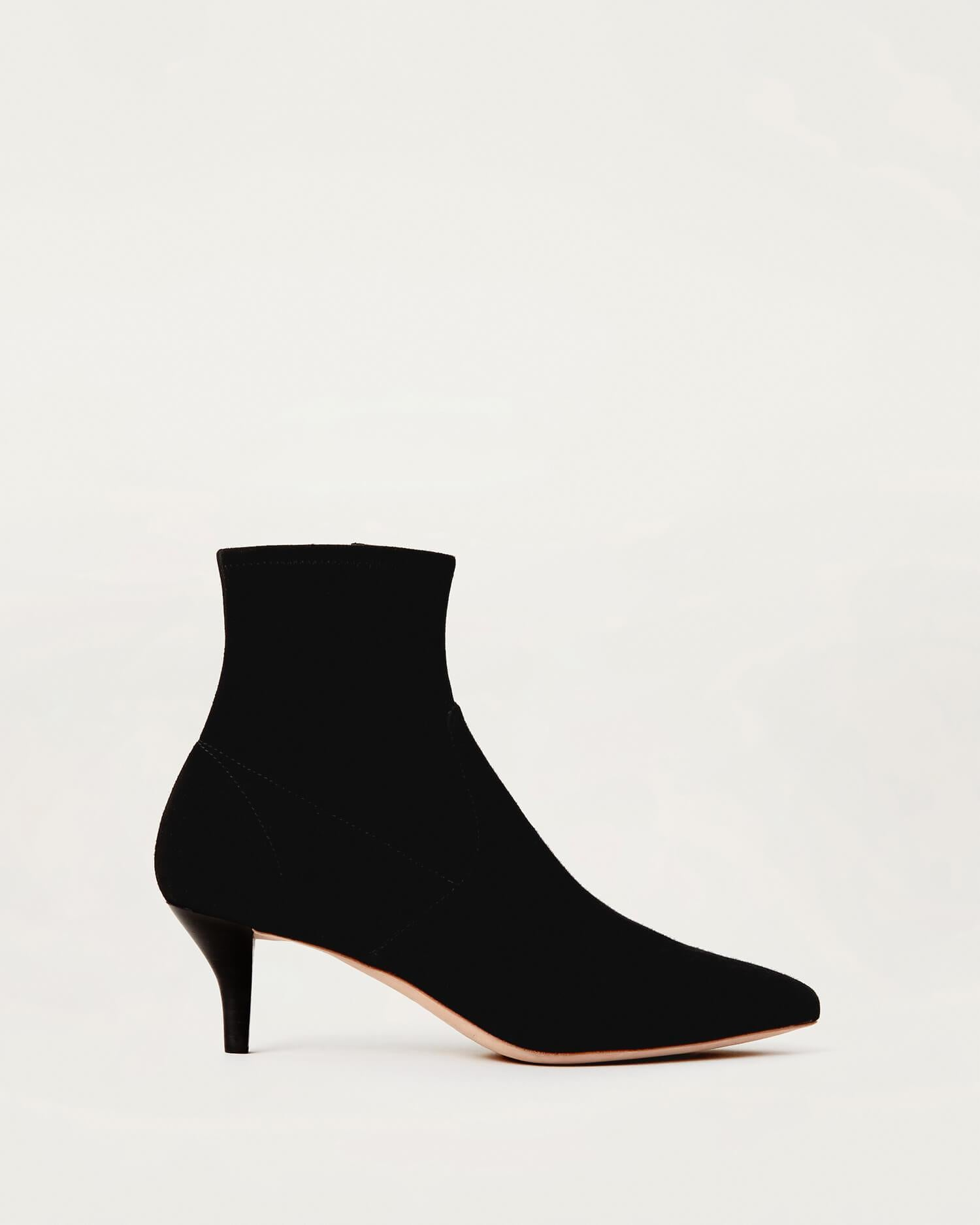 Color:Black Suede