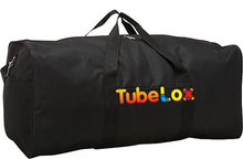 Load image into Gallery viewer, TubeLox Gift Bundle - 1 Deluxe Set + Storage Bag + LEDs + Canvas!