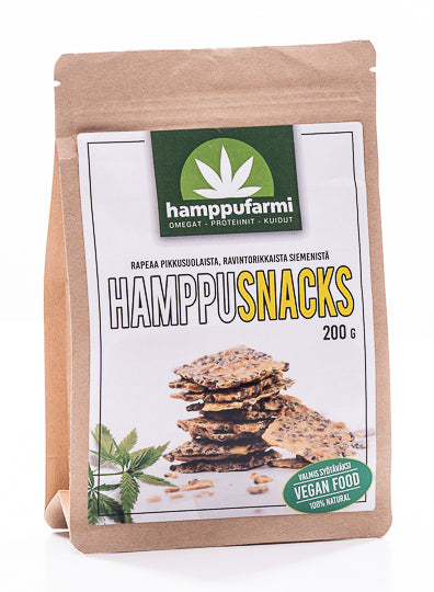 HamppuSnacks 200g