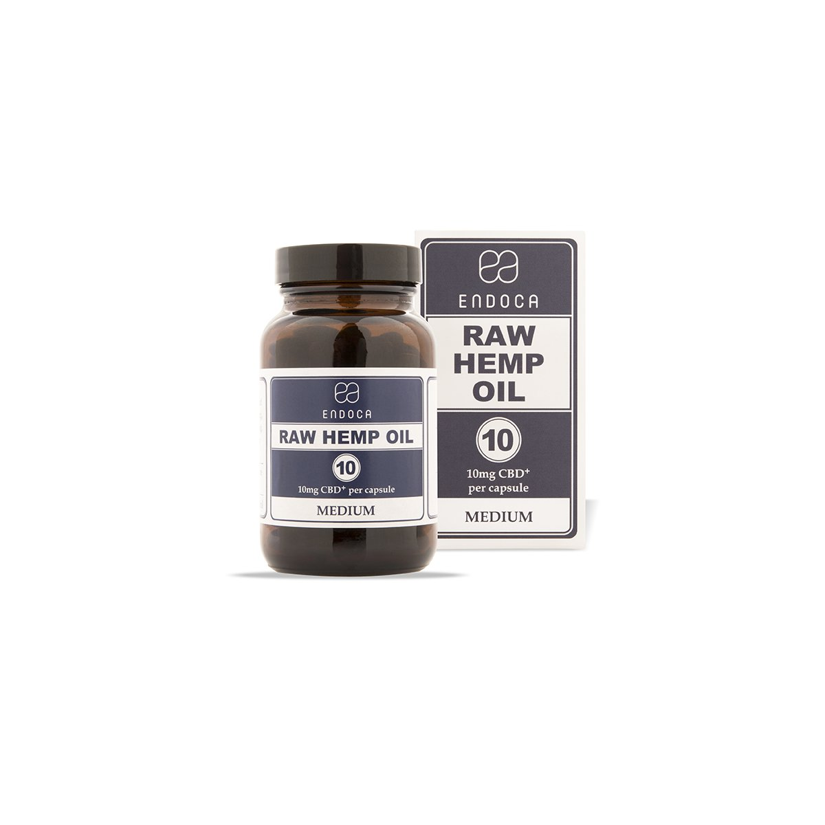Endoca Raw Hemp Oil 300mg Capsules - Kerwell: Premium CBD House