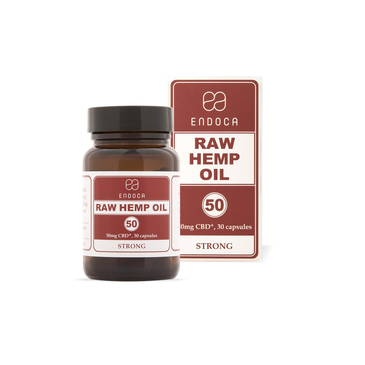 Endoca Raw Hemp Oil 1500mg Capsules - Kerwell: Premium CBD House