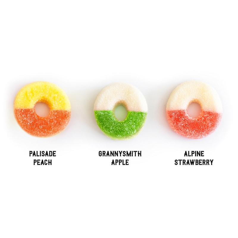 Hemp Extract Gummy Rings