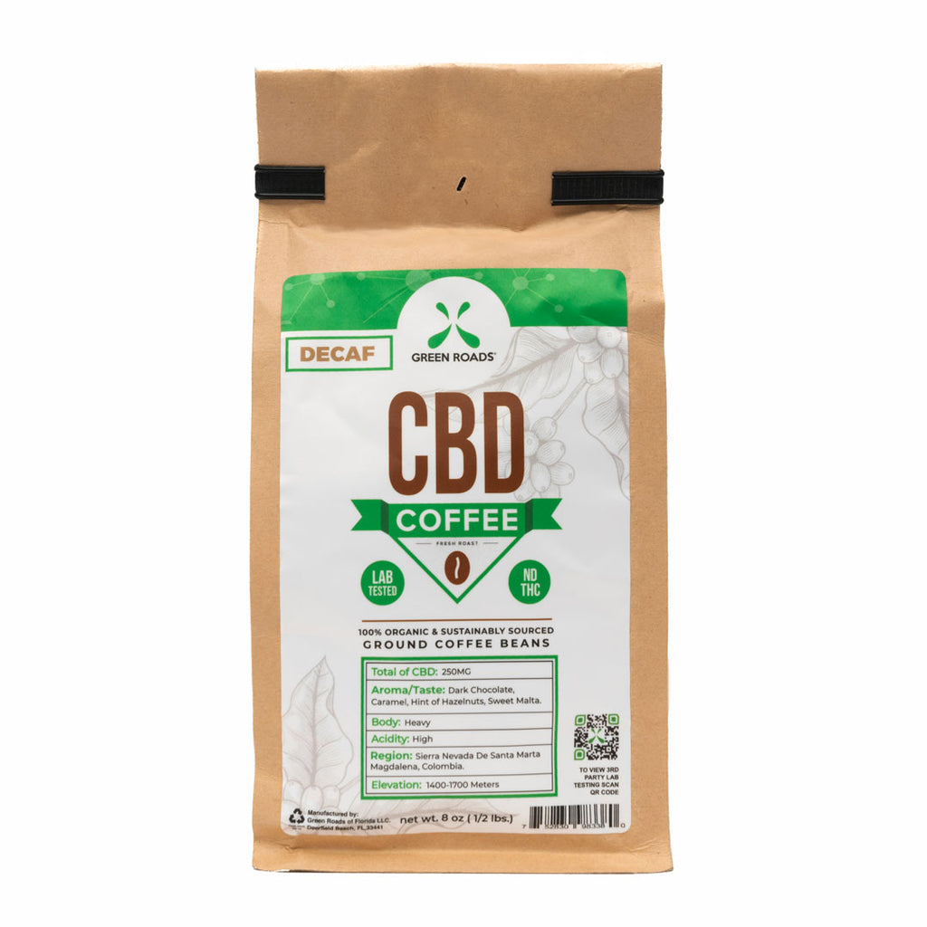 Green Roads Decaf CBD Coffee - Kerwell: Premium CBD House