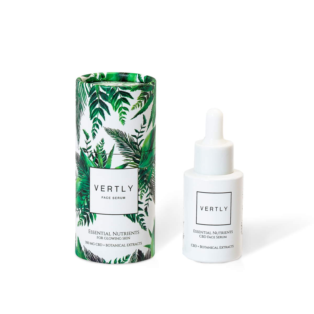 CBD + BOTANICAL EXTRACTS FACE SERUM - Kerwell: Premium CBD House