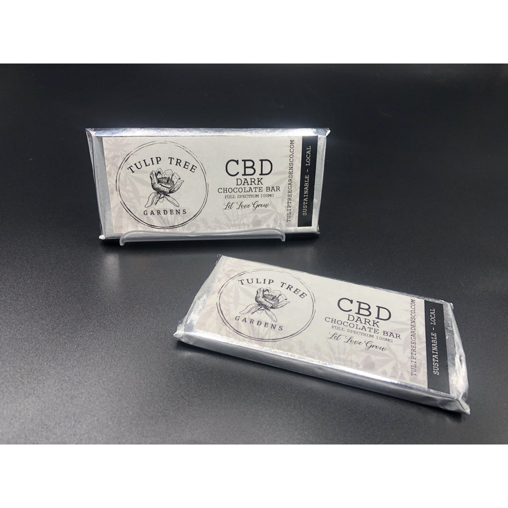 Dark Chocolate Bar - 100mg Full Spectrum CBD - Kerwell: Premium CBD House