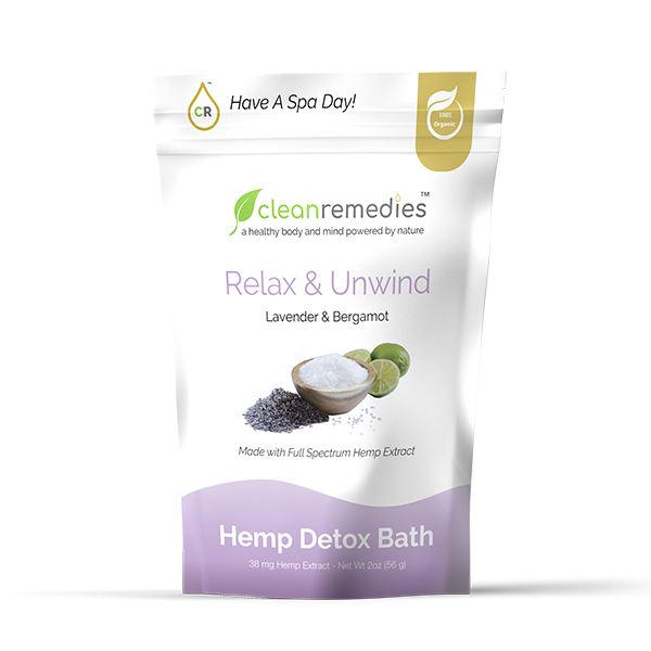 Hemp Detox Bath Salt - Kerwell: Premium CBD House