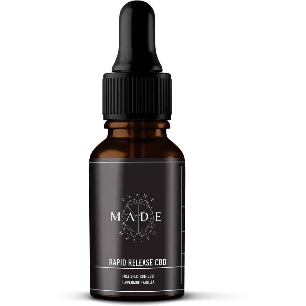 Rapid Release Tinctures by Made Plant Health