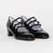 Kina Babies Patent Leather Black