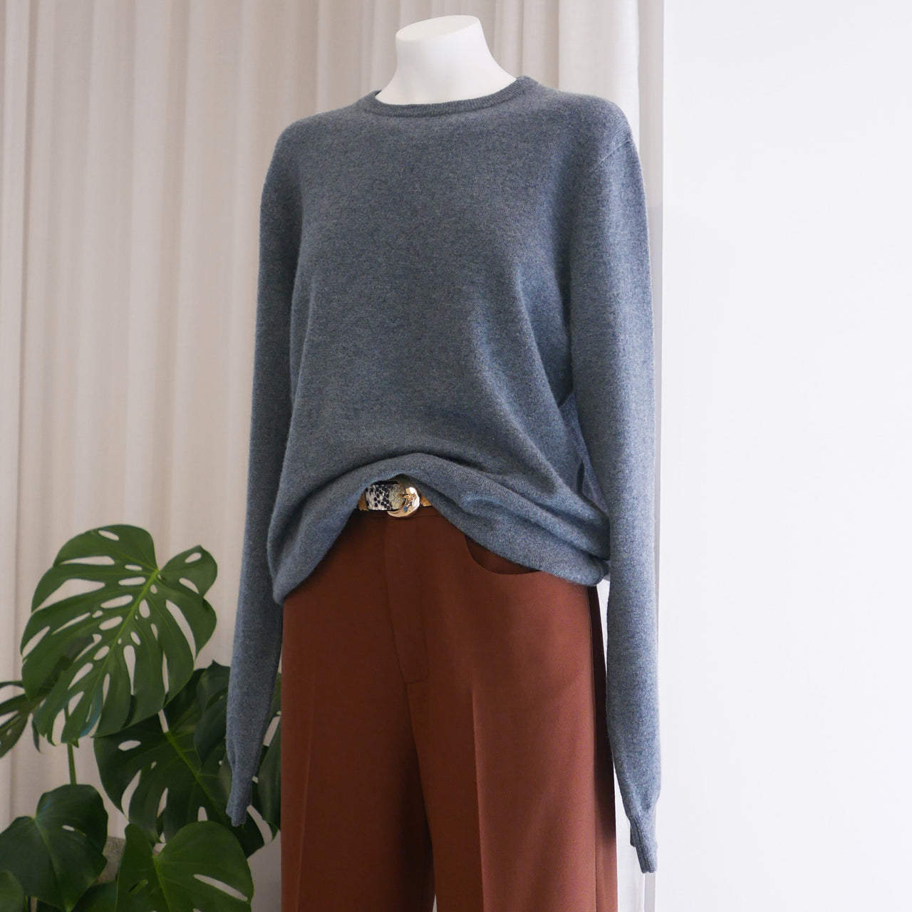 Be Cashmere Sweater in Wave