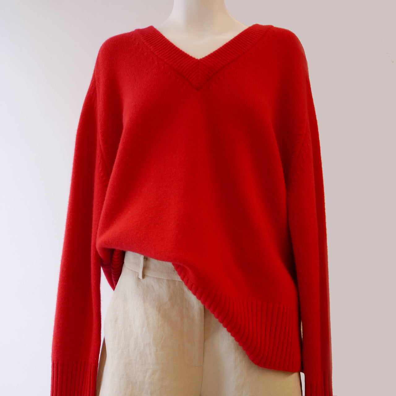 Vital Sweater in Red
