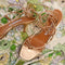 Mary Sandal Gold Nappa