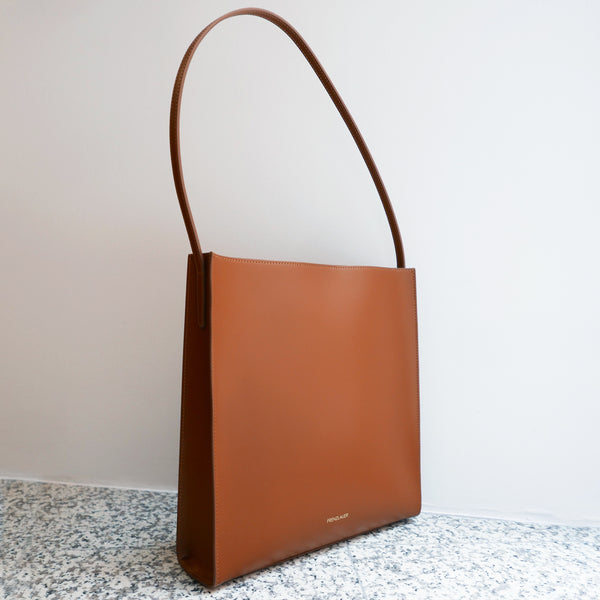 FRENZLAUER Square Bag Tan