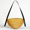 Large Straw Oval Handbag AKAMAE No.1