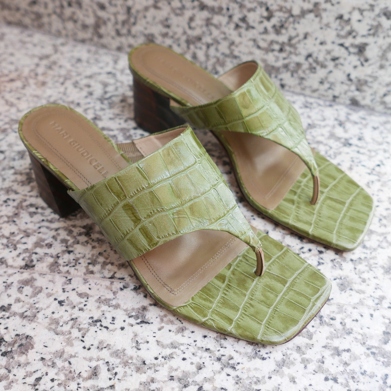 Copa Sandal Croco in Forest