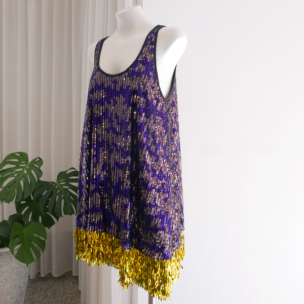 Styx Dress Cascade in Purple