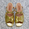 Suzanne Sandal in Gold