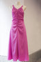 Hammered Silk Dress Cool Pink