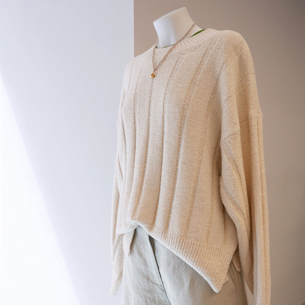 RUS Brume Sweater Chalk