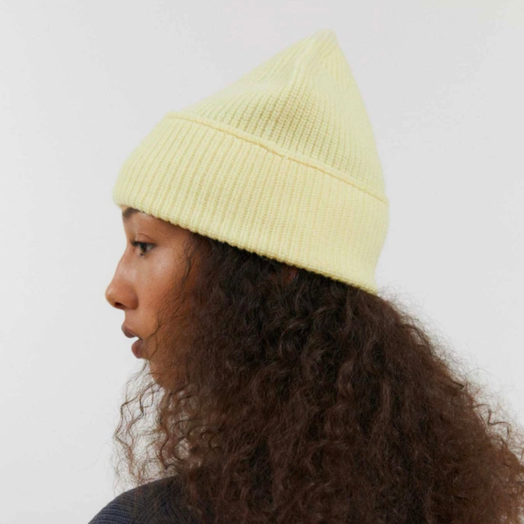 Hana Knit Beanie in Butter