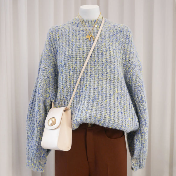 Osara Sweater in Pale Blue