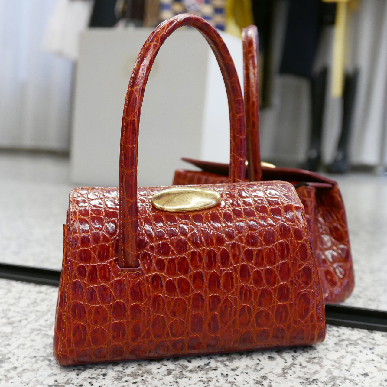 LITTLE LIFFNER Baby Boss Bag Red
