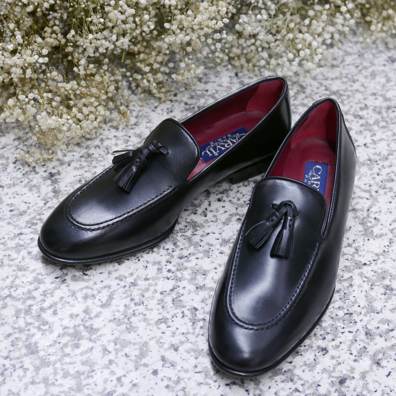 Triomphe Loafers Nappa Black