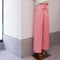 Joe Taffeta Wide Pants in Pink