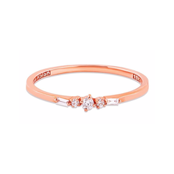 18K ROSE GOLD THIN PLAYFUL BAND