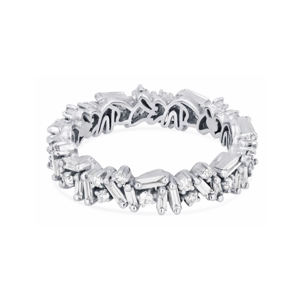 18K WHITE GOLD ICON ETERNITY BAND