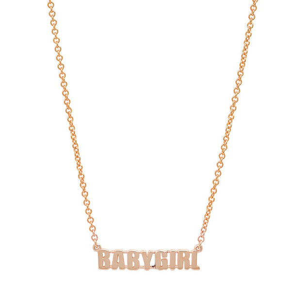 Baby Girl Necklace