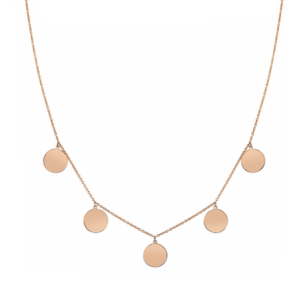 5 DISC NECKLACE