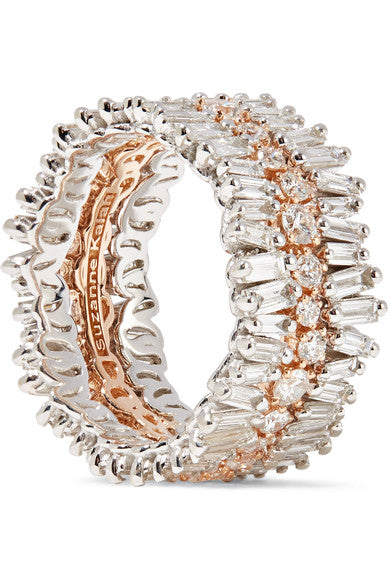 Three Layer Eternity Band