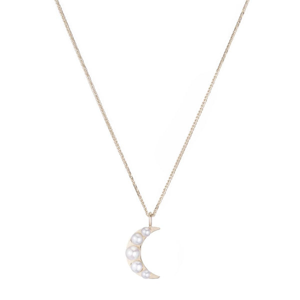 Lido Moon Pendant Necklace