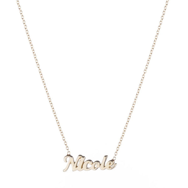 Script Name It Necklace