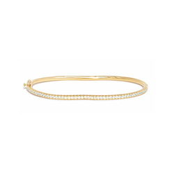BERCEAU PAVE DIAMOND BANGLE