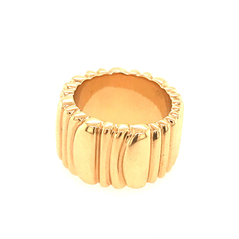 CARTIER WIDE GOLD BAND